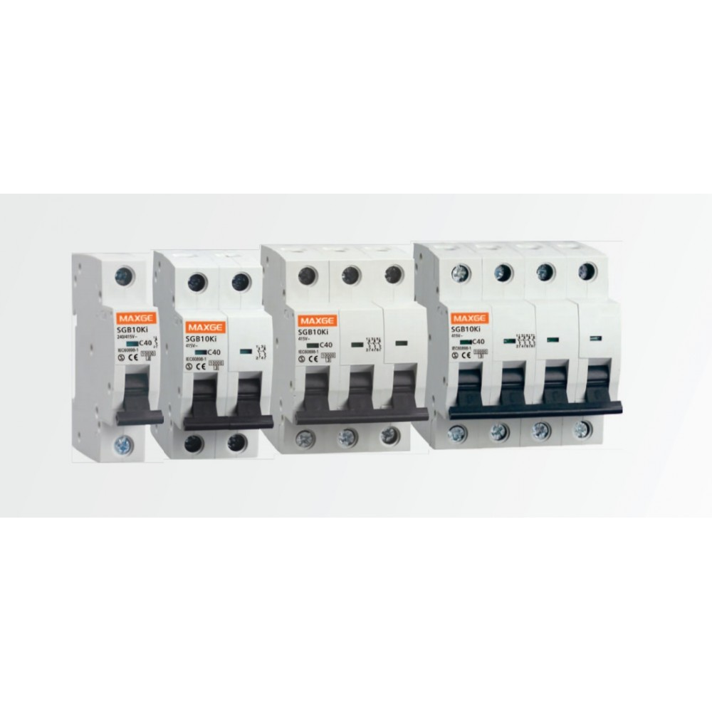 Interruptor automático magnetotérmico 1P 6A DC 10000A Curva C SC61C06