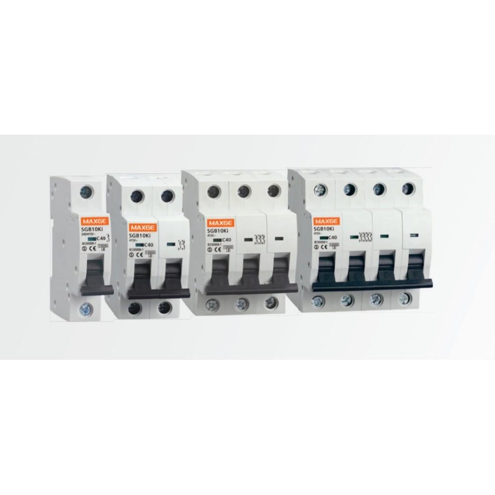 Interruptor automático magnetotérmico 1P 63A DC 10000A Curva C SC61C63