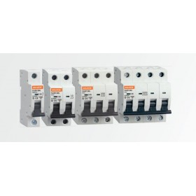 Interruptor automático magnetotérmico 2P 0.5A DC 10000A Curva C SC62C0.5